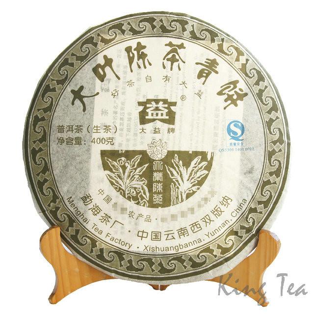2007 TAE TEA DaYi DaYeChenCha (701) Cake    Raw Tea Sheng Cha
