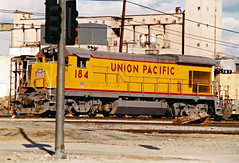 Union Pacific B23-7 No. 184 At East Yard