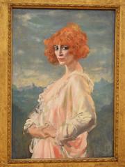 Augustus Edwin John. the Marchesa Casati, 1919