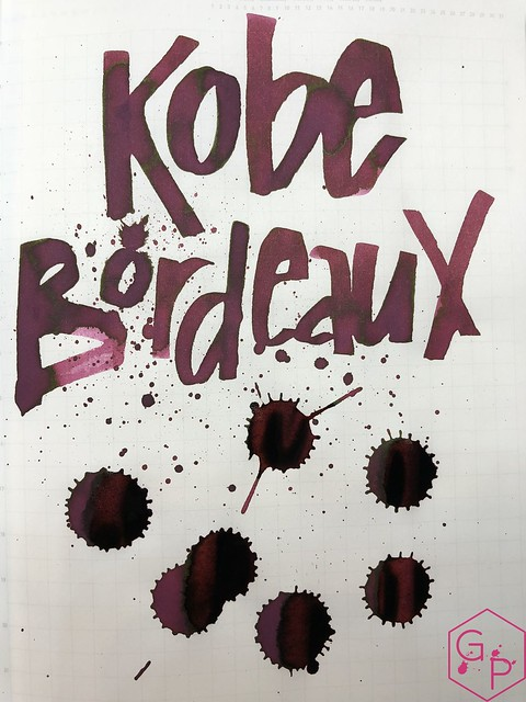 Ink Shot Review Kobe #6 Bordeaux @GoldspotPens 15