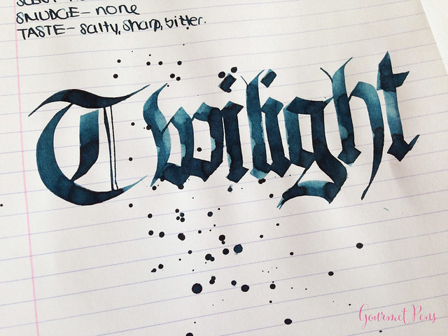 Ink Shot Review Diamine Twilight @BureauDirect 7