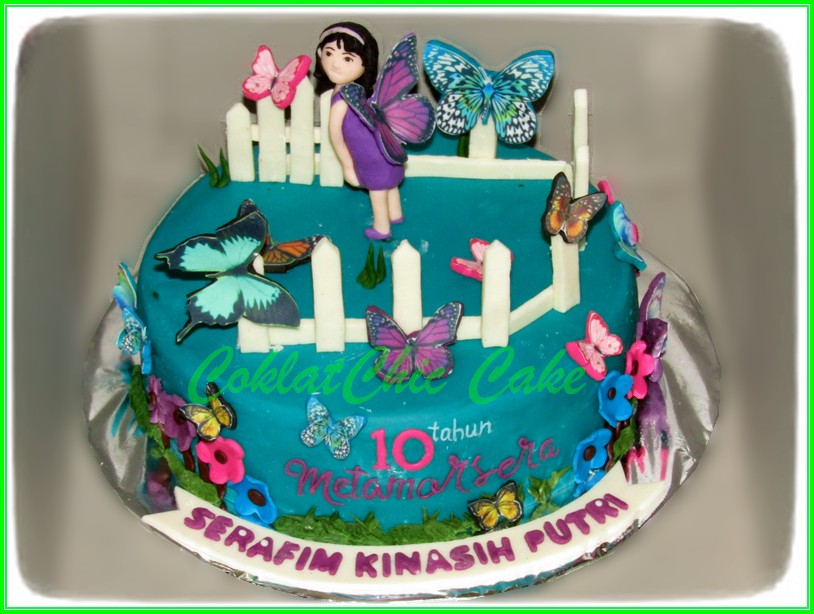 Cake Butterflies SERAFIM 18cm