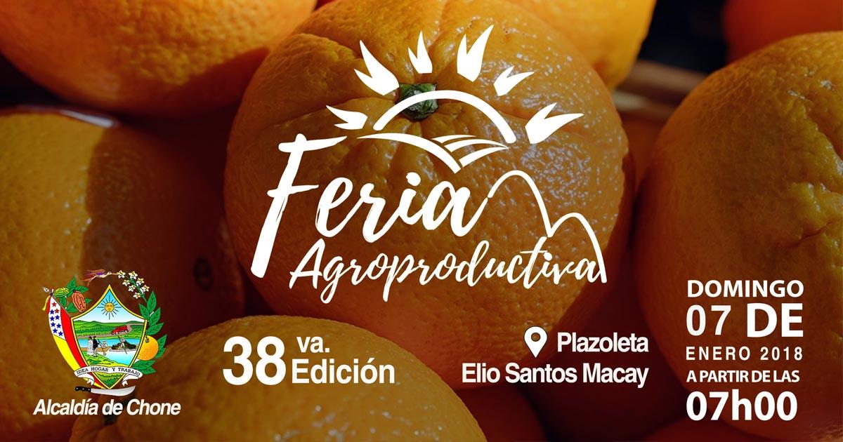 Ferias agroproductivas continuarán en el 2018