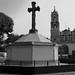 Cruz Atrial y Catedral de San Buenaventura