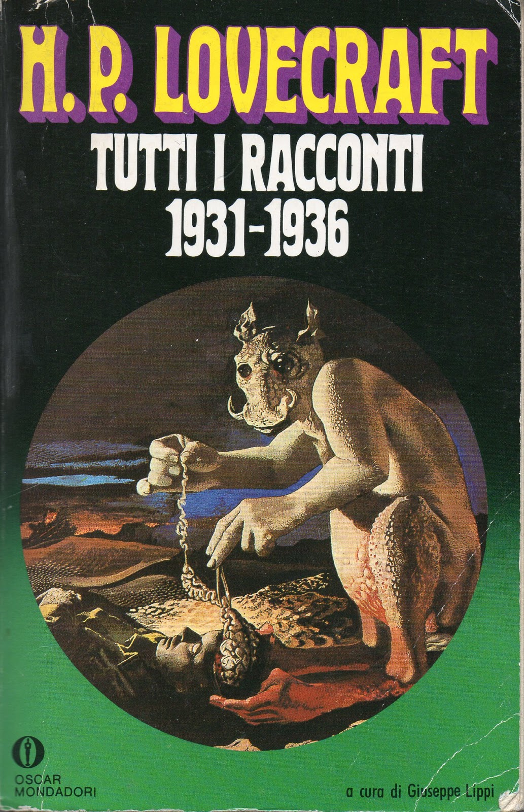 Karel Thole - Cover for Howard Phillips  Lovecraft - TUTTI I RACCONTI 1931-1936, published  1992
