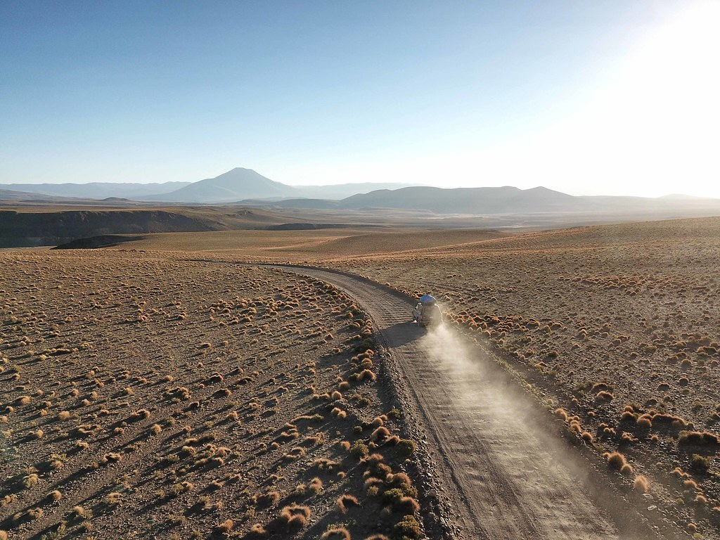 Uyuni - Road - Drone