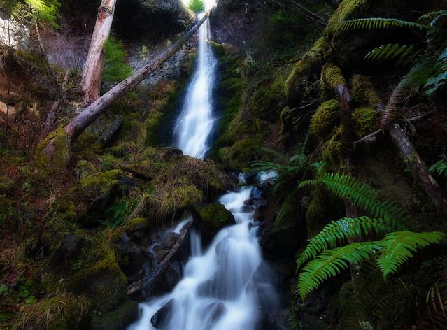 Bull Creek Falls - 110 ft