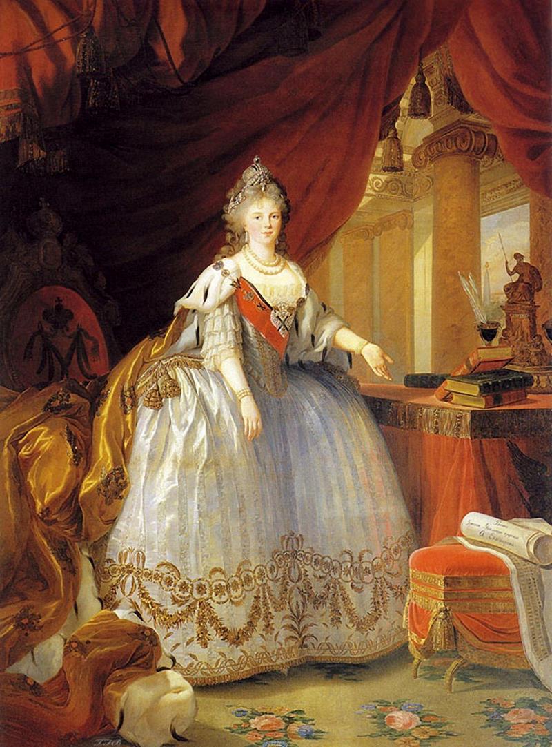 Empress Maria Feodorovna of Russia, 1799