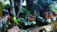 Miniature Olana & Hurst-Pierrepont Estate @ NYBG