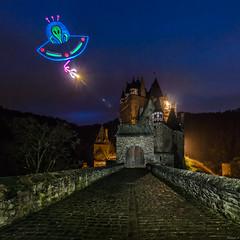 Don't mess with castle Eltz