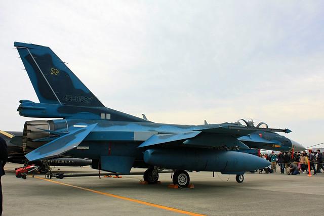 第8航空団 第8飛行隊 F-2A 43-8527 IMG_3368_2