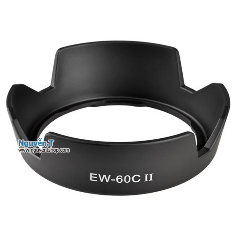 Lens hood loa che nắng EW-60CII cho ống kính Canon EF-S 18-55mm f/3.5-5.6 IS II