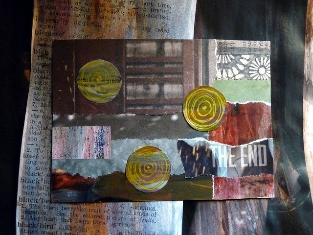 Postcard The End