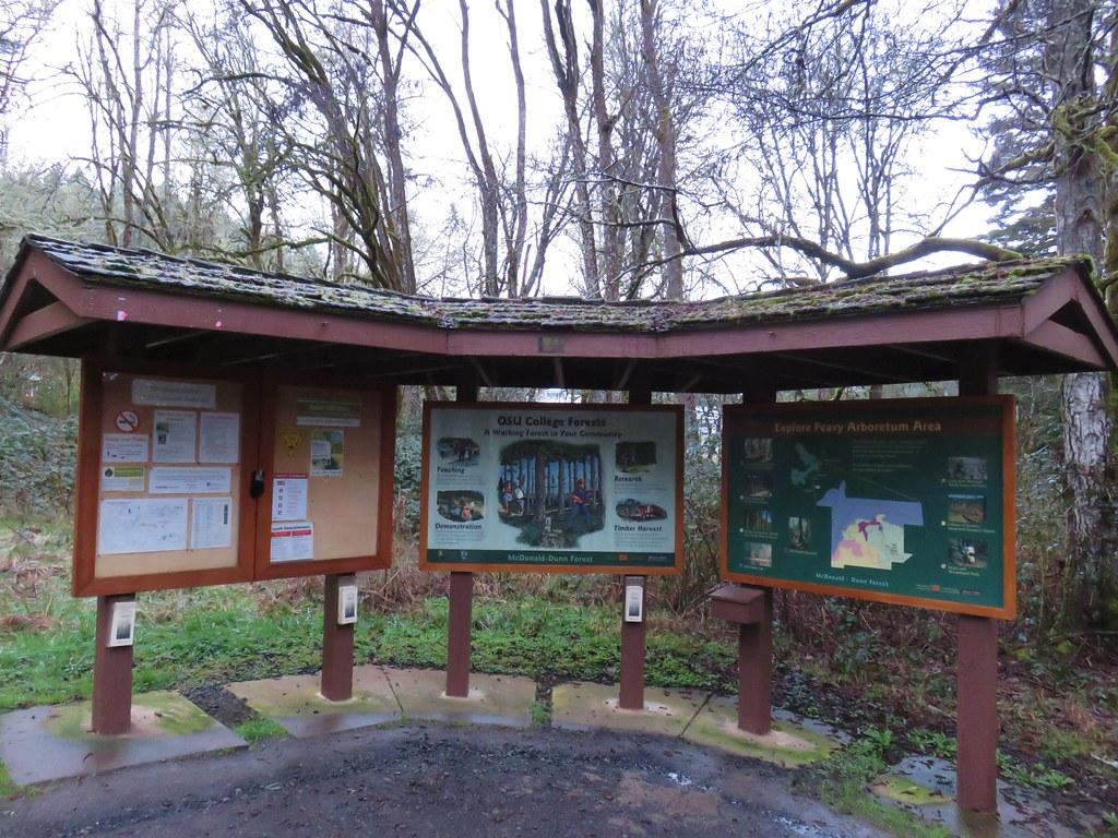 Peavy Arboretum Trailhead