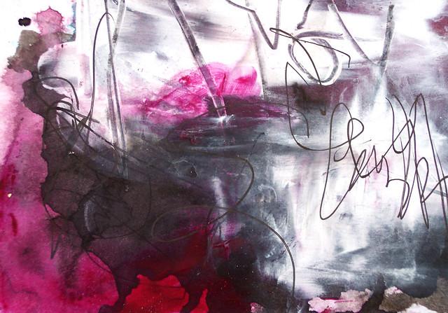 magenta abstract 13