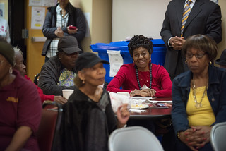 December 6, 2017 Mayor Muriel Bowser Visits to Model Cities Senior Wellness Center