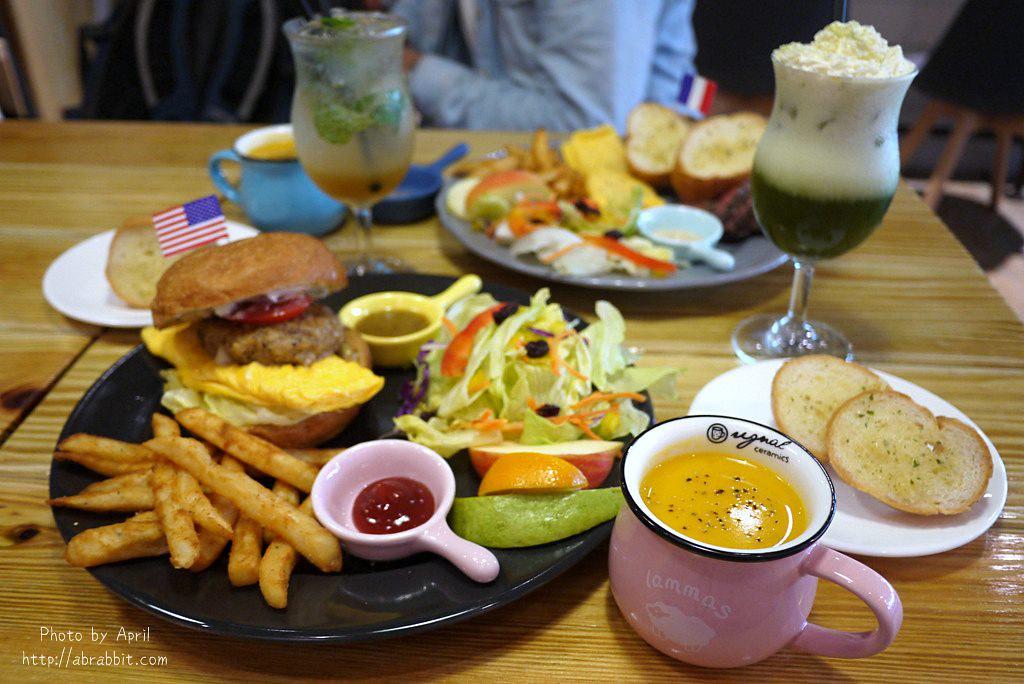 台中北屯早午餐|歐娜斯早午餐HONEST-高CP值早午餐,還有牛排喔!