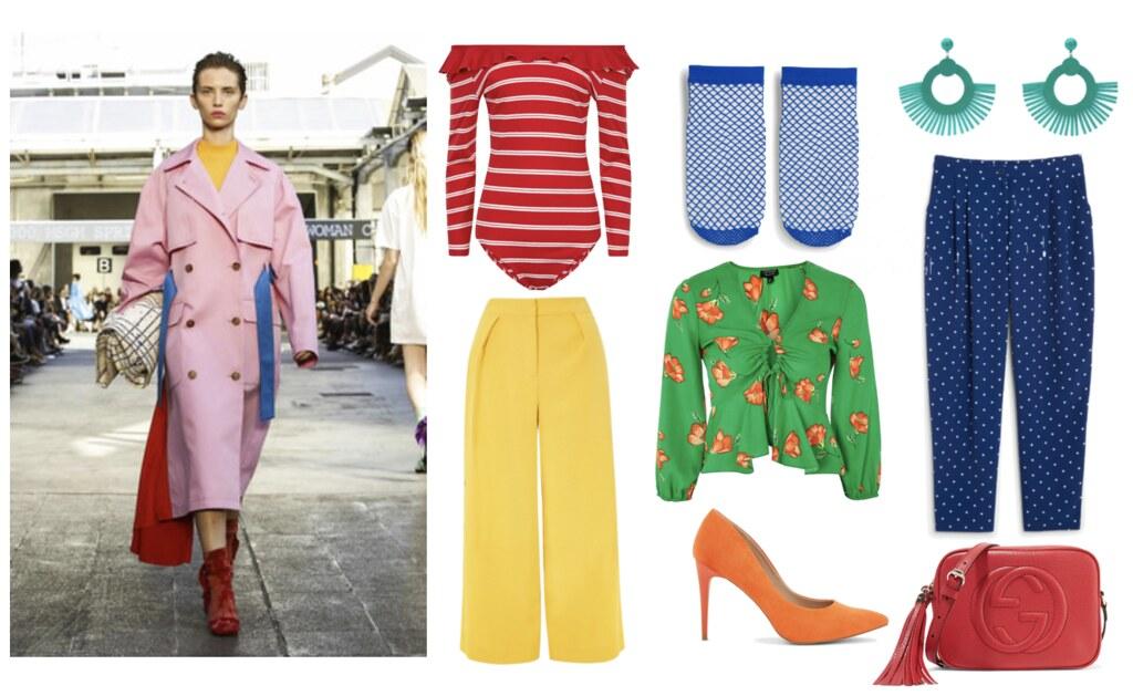 Miten yhdistää kevään trendit värit