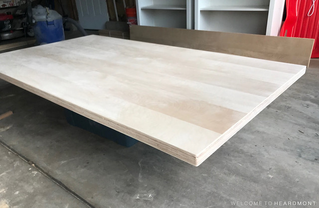 Table Sanded Side View | Welcome to Heardmont