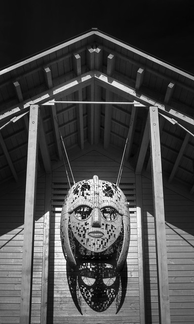 L9991723  The Mask of a Saxon KIng (Sutton Hoo)