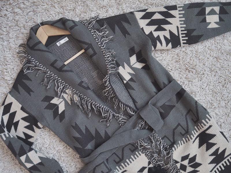cubus aztec knit