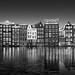 A Tale of the Past IV - Damrak Canal Amsterdam by Julia-Anna Gospodarou