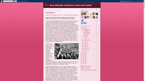 192 - Grup d'Estudis Cubellencs Amics del Castell
