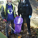First Haringey 'Flash Sweep' and litter pick December 2017