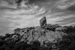heart made of granite