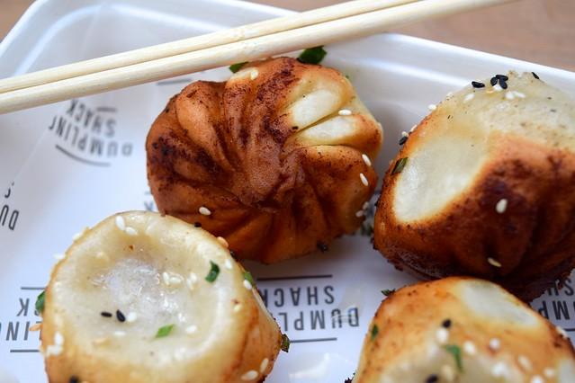 Dumpling Shack Soup Dumplings from The Kitchen at Old Spitalfields Market #dumplings #soupdumplings #streetfood #dumplingshack #london #spitalfields