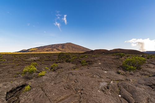 volcan lafournaise piton la réunion formica leo lave coulée dolomieu