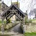 Lych Gate, All saints' church, Crofton