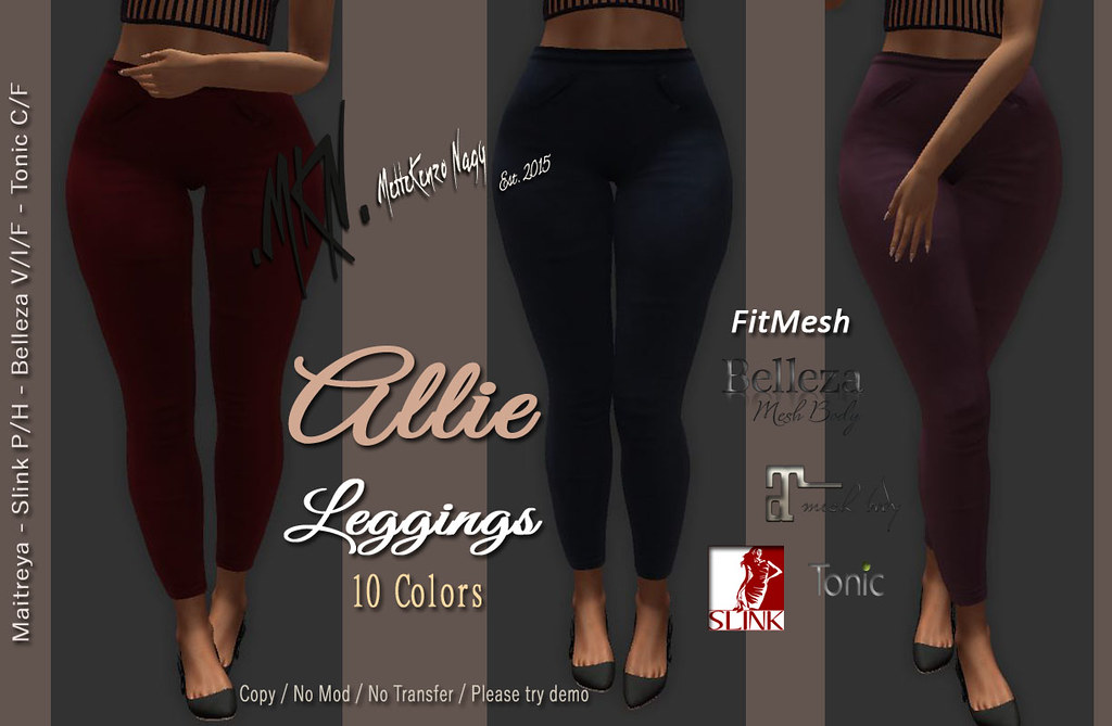 . MKN . Allie Leggings - TeleportHub.com Live!