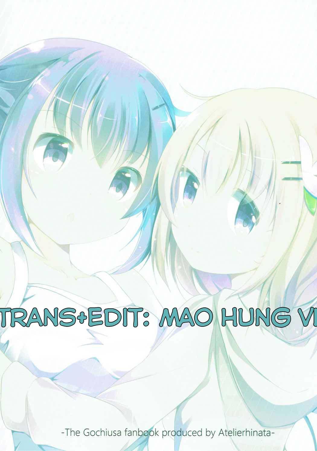 HentaiVN.net - Ảnh 22 - Find myself (Gochuumon wa Usagi desu ka?) - Oneshot
