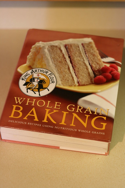 Book Love:  King Arthur Whole Grains Cookbook