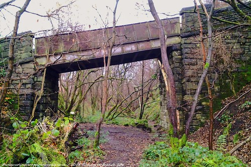 Bridge over the Rishworth Branch 15.