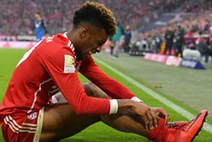 Coman suffers ankle injury in Bayern draw