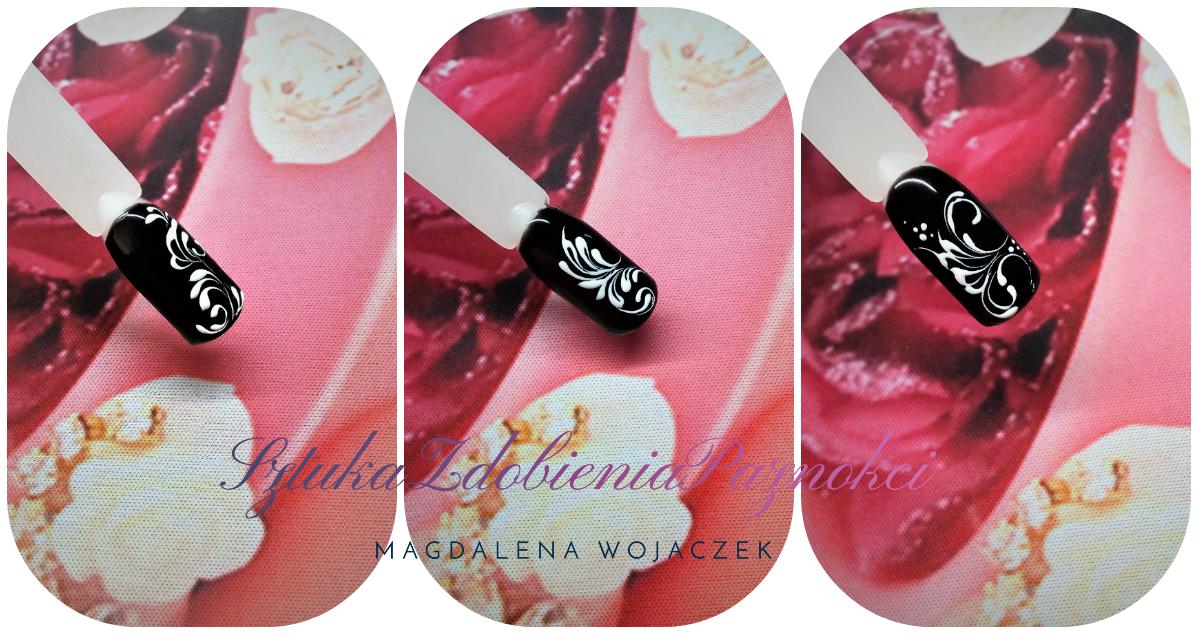 malujemy ornamenty na paznokciach