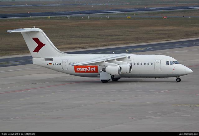D-AMGL, WDL Aviation, EasyJet, British Aerospace 146-200A, cn E2055