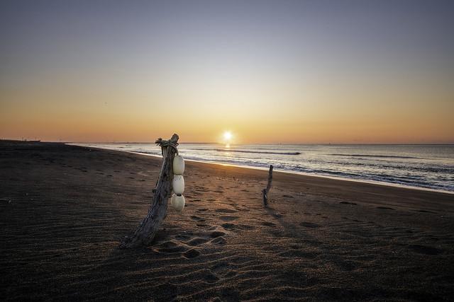 Sunrise beach at Koitoi