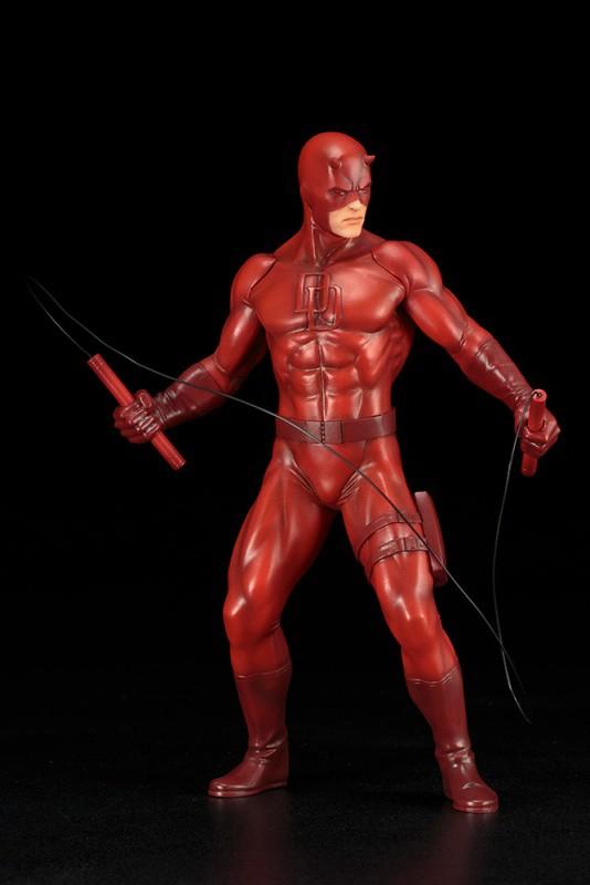 一心要守護地獄廚房的闇夜英雄!! 壽屋 ARTFX+ 系列 Marvel Comics【夜魔俠】Daredevil デアデビル
