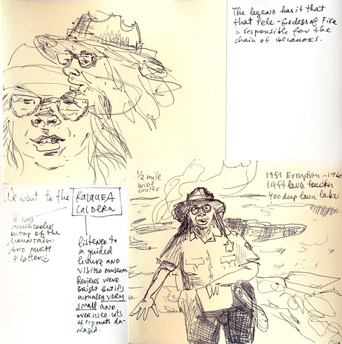 Sketchbook #111: Trip to Hawaii