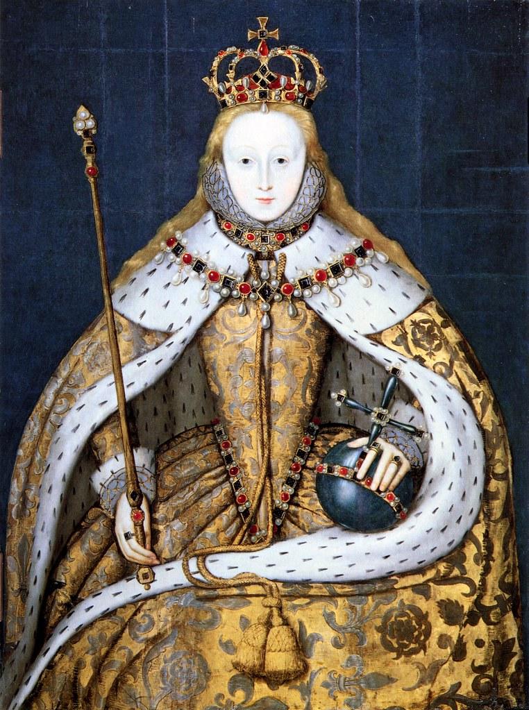 Unknown - Elizabeth I in coronation robes (c.1600)