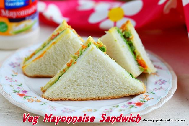 Veg Mayonnaise-Sandwich