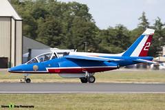 E114 2 F-TERR - E114 - Patrouille de France - French Air Force - Dassault-Dornier Alpha Jet E - RIAT 2010 Fairford - Steven Gray - IMG_9767