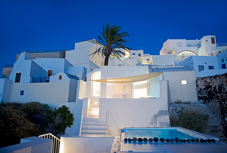 House on Fira I, Santorini, Greece. Photos Julia Klimi, 2014