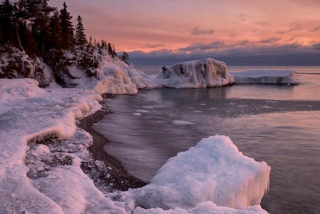 sawpit bay / sunset