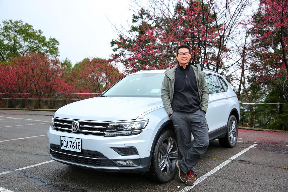 VW Tiguan Allspace 臺灣的旅行生活駕車樂趣