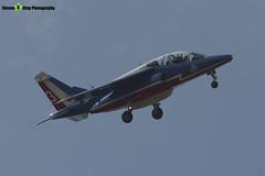 E95 3 F-TERQ - E95 - Patrouille de France - French Air Force - Dassault-Dornier Alpha Jet E - RIAT 2013 Fairford - Steven Gray - IMG_9939