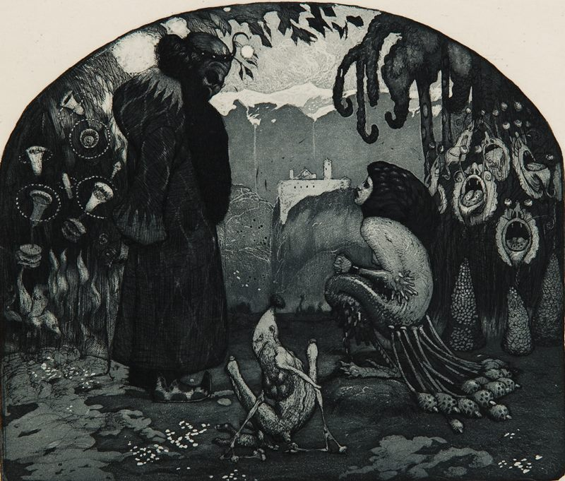 Richard Teschner - The Evil Wizard, 1905